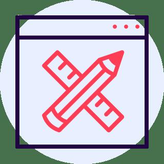 Web Builder Icon